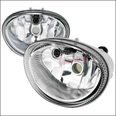 Headlights & Tail Lights - Fog Lights - Spec-D - Dodge Caravan Spec-D Fog Light Kit - Clear Lens - LF-CAR96COEM-APC