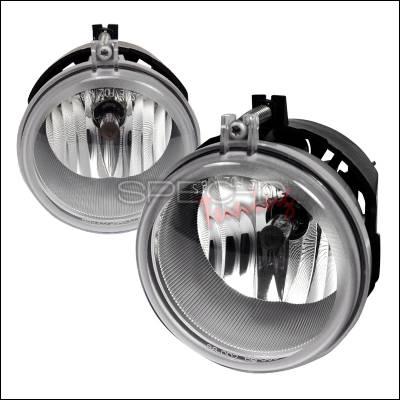 Headlights & Tail Lights - Fog Lights - Spec-D - Dodge Charger Spec-D OEM Fog Light - Clear - LF-CHG05COEM-APC