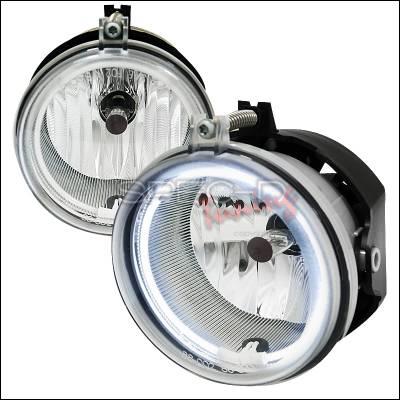 Headlights & Tail Lights - Fog Lights - Spec-D - Dodge Charger Spec-D CCFL Halo Fog Light Kit - LF-CHG05C-V2-APC