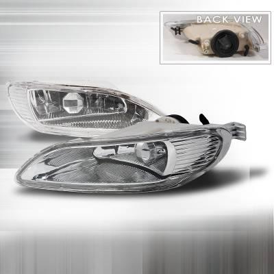 Headlights & Tail Lights - Fog Lights - Spec-D - Toyota Corolla Spec-D OEM Fog Lights - Clear - LF-COR05OEM