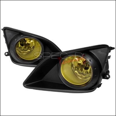 Headlights & Tail Lights - Fog Lights - Spec-D - Toyota Corolla Spec-D OEM Style Fog Lights - Yellow - LF-COR07AMOEM
