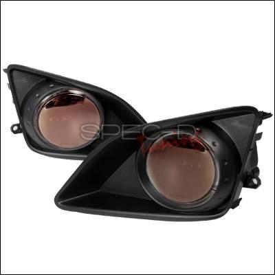Headlights & Tail Lights - Fog Lights - Spec-D - Toyota Corolla Spec-D OEM Style Fog Lights - Smoke - LF-COR07GOEM