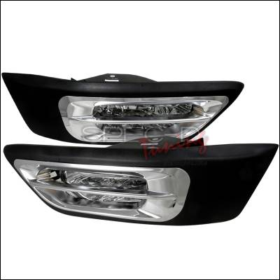 Headlights & Tail Lights - Fog Lights - Spec-D - Honda CRV Spec-D OEM Fog Lights - Clear - LF-CRV02COEM-WJ