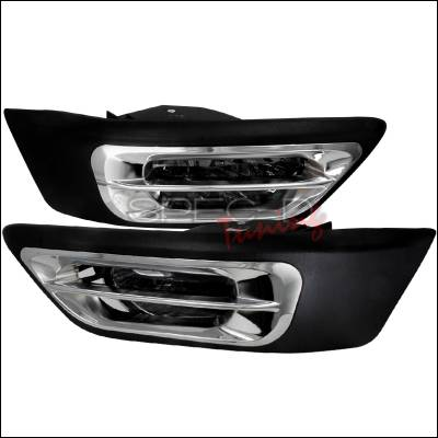 Headlights & Tail Lights - Fog Lights - Spec-D - Honda CRV Spec-D OEM Fog Lights - Smoke - LF-CRV02GOEM-WJ