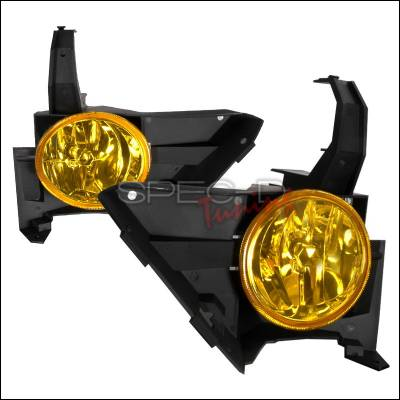 Headlights & Tail Lights - Fog Lights - Spec-D - Honda CRV Spec-D OEM Fog Lights - Yellow - LF-CRV05AM-WJ