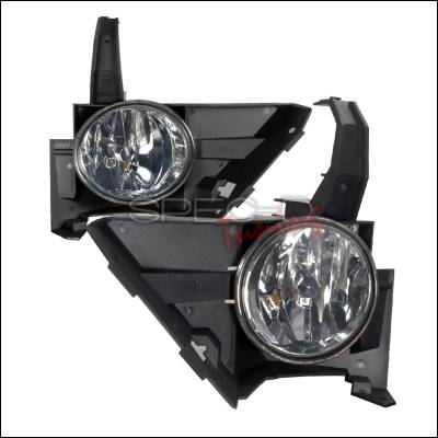 Headlights & Tail Lights - Fog Lights - Spec-D - Honda CRV Spec-D OEM Fog Lights - Smoke - LF-CRV05G-WJ