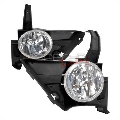 Headlights & Tail Lights - Fog Lights - Spec-D - Honda CRV Spec-D OEM Fog Lights - Clear - LF-CRV05-WJ