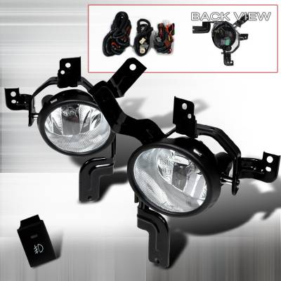 Headlights & Tail Lights - Fog Lights - Spec-D - Honda CRV Spec-D Fog Lights - Clear - LF-CRV07OEM