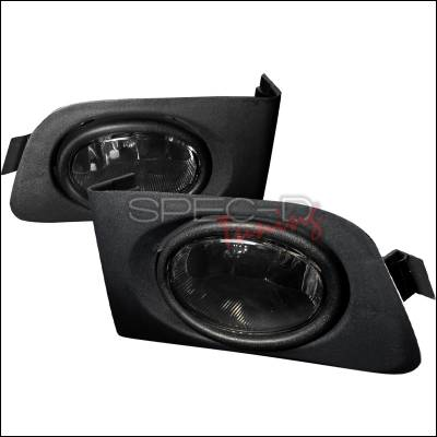 Headlights & Tail Lights - Fog Lights - Spec-D - Honda Civic Spec-D OEM Fog Lights - Smoke - LF-CV01GOEM