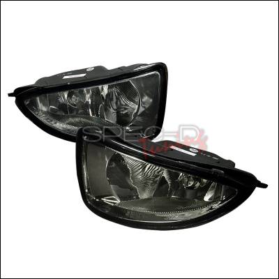 Headlights & Tail Lights - Fog Lights - Spec-D - Honda Civic Spec-D OEM Fog Lights - Smoke - LF-CV04GOEM