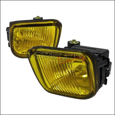 Headlights & Tail Lights - Fog Lights - Spec-D - Honda Civic Spec-D Fog Lights - Yellow - LF-CV96AM-WJ