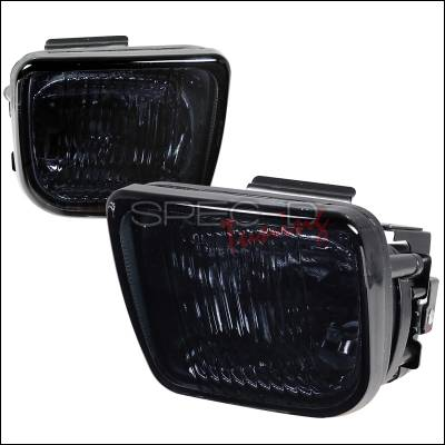 Headlights & Tail Lights - Fog Lights - Spec-D - Honda Civic Spec-D OEM Clear Fog Lights - Smoke - LF-CV96G-WJ