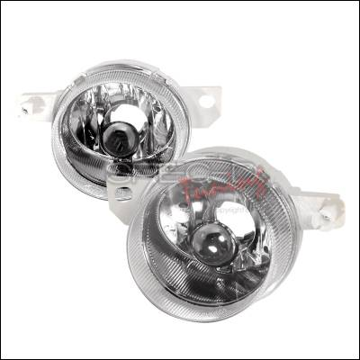 Headlights & Tail Lights - Fog Lights - Spec-D - Honda Del Sol Spec-D OEM Style Fog Lights - Clear - LF-DEL93-ABM