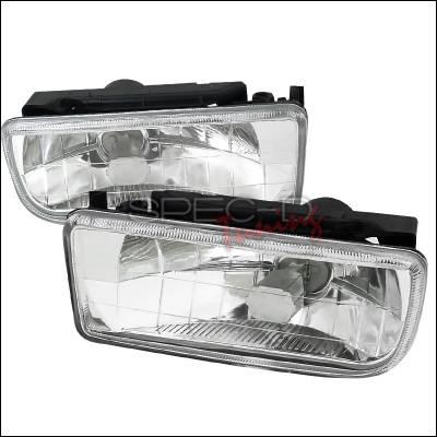 Headlights & Tail Lights - Fog Lights - Spec-D - BMW 3 Series Spec-D Fog Lights - Clear - LF-E3692-GD