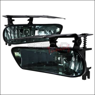 Headlights & Tail Lights - Fog Lights - Spec-D - Cadillac Escalade Spec-D OEM Fog Light - Smoke - LF-ECLD02GOEM-APC
