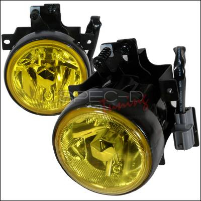 Headlights & Tail Lights - Fog Lights - Spec-D - Honda Element Spec-D OEM Fog Light - Yellow - LF-ELM03AMOEM-WJ