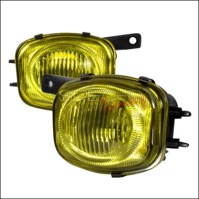 Headlights & Tail Lights - Fog Lights - Spec-D - Mitsubishi Eclipse Spec-D OEM Fog Lights - Yellow - LF-ELP00AM-WJ