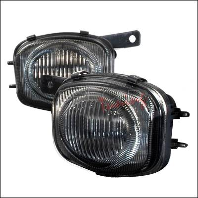 Headlights & Tail Lights - Fog Lights - Spec-D - Mitsubishi Eclipse Spec-D OEM Style Fog Lights - Smoke - LF-ELP00G-WJ