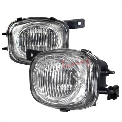 Headlights & Tail Lights - Fog Lights - Spec-D - Mitsubishi Eclipse Spec-D OEM Fog Lights - Clear - LF-ELP00-WJ