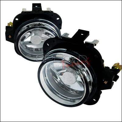 Headlights & Tail Lights - Fog Lights - Spec-D - Mitsubishi Eclipse Spec-D Fog Light Kit - Clear Lens - LF-ELP02COEM-APC
