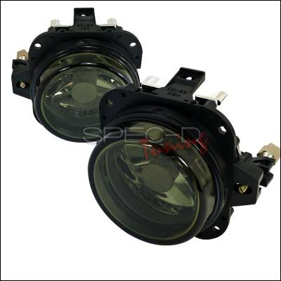 Headlights & Tail Lights - Fog Lights - Spec-D - Mitsubishi Eclipse Spec-D Fog Light Kit - Smoke Lens - LF-ELP02GOEM-APC