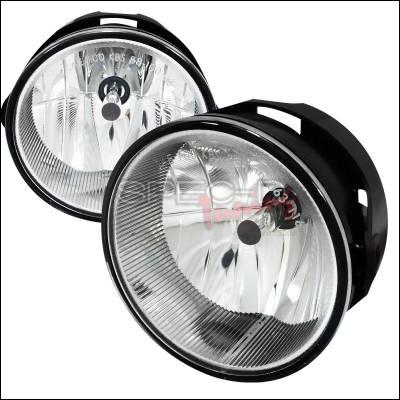 Headlights & Tail Lights - Fog Lights - Spec-D - Ford Expedition Spec-D Fog Light Kit - Clear Lens - LF-EPED07COEM-APC