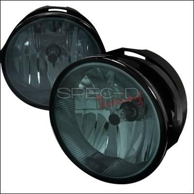 Headlights & Tail Lights - Fog Lights - Spec-D - Ford Expedition Spec-D Fog Light - Smoke Lens - LF-EPED07GOEM-APC