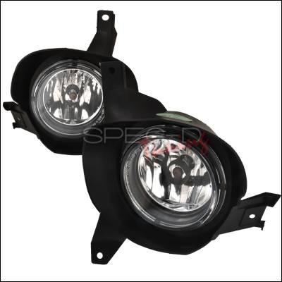 Headlights & Tail Lights - Fog Lights - Spec-D - Ford Explorer Spec-D Sport OEM Style Fog Lights - Clear - LF-EPOR02COEM-APC