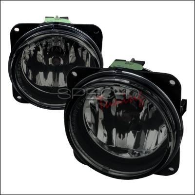 Headlights & Tail Lights - Fog Lights - Spec-D - Ford Focus Spec-D Fog Lights - Smoke - LF-FOC00GOEM-APC