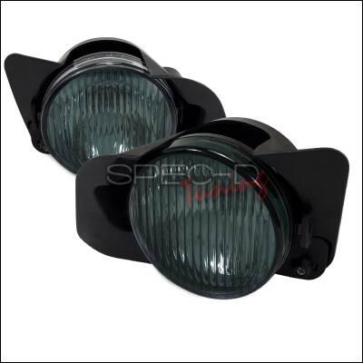 Headlights & Tail Lights - Fog Lights - Spec-D - Mitsubishi Galant Spec-D Fog Lights - Smoke - LF-GAL99GOEM-APC