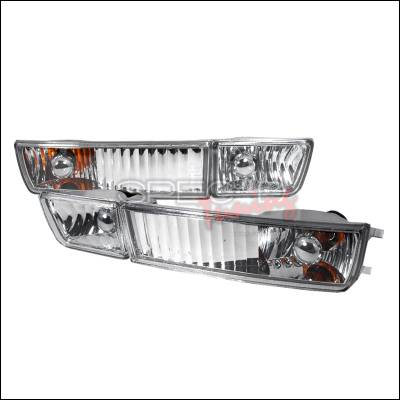 Headlights & Tail Lights - Fog Lights - Spec-D - Volkswagen Jetta Spec-D OEM Style Fog Light - Clear - LF-GLF93-TM