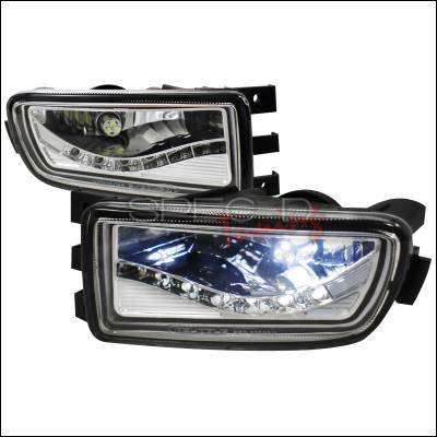 Headlights & Tail Lights - Fog Lights - Spec-D - Lexus GS Spec-D Fog Lights with Daytime Running Light & LED Bulbs - LF-GS30098LED-APC