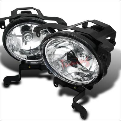 Headlights & Tail Lights - Fog Lights - Spec-D - Hyundai Accent Spec-D Foglights - Clear - LF-HACT03C-WJ