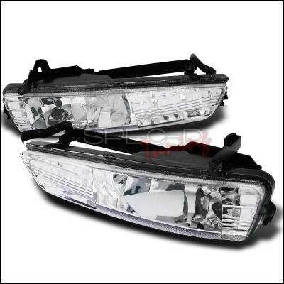 Headlights & Tail Lights - Fog Lights - Spec-D - Hyundai Accent Spec-D Foglights - Clear - LF-HACT07C-WJ
