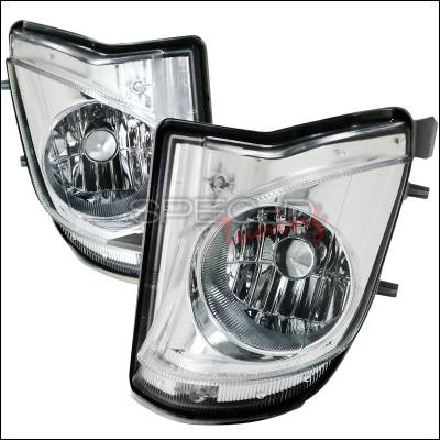 Headlights & Tail Lights - Fog Lights - Spec-D - Lexus IS Spec-D Fog Light Kit - Clear Lens - LF-IS25006COEM-APC
