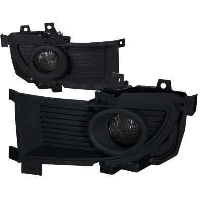 Headlights & Tail Lights - Fog Lights - Spec-D - Mitsubishi Lancer Spec-D Fog Lights - LF-LAN05GOEM-DL