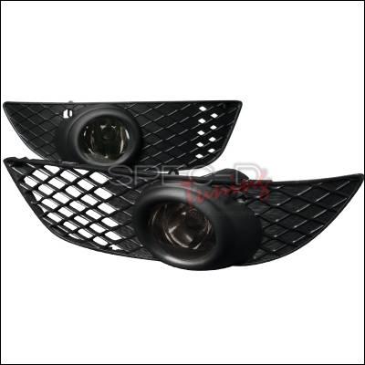 Headlights & Tail Lights - Fog Lights - Spec-D - Mitsubishi Lancer Spec-D OEM Style Fog Lights - Smoke - LF-LAN08GOEM