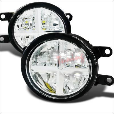 Headlights & Tail Lights - Fog Lights - Spec-D - Lexus LX Spec-D LED Fog Lights - LF-LX57008CLED-APC