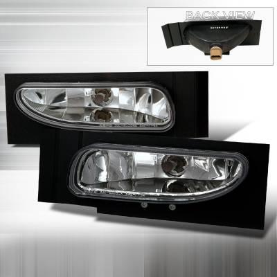Headlights & Tail Lights - Fog Lights - Spec-D - Ford Mustang Spec-D Fog Lights - Clear - LF-MST96C-DP