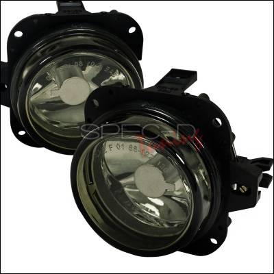 Headlights & Tail Lights - Fog Lights - Spec-D - Mazda Miata Spec-D Fog Light Kit - Smoke Lens - LF-MX501GOEM-APC