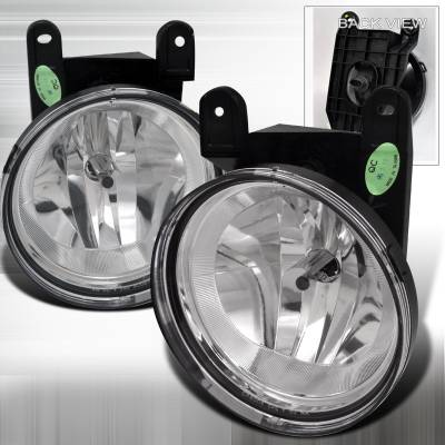 Headlights & Tail Lights - Fog Lights - Spec-D - Lincoln Navigator Spec-D OEM Style Fog Lights - Clear - LF-NAV98COEM-APC