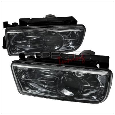 Headlights & Tail Lights - Fog Lights - Spec-D - BMW 3 Series Spec-D Projector Fog Lights - Smoke - LFP-E3692G