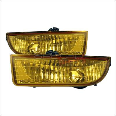 Headlights & Tail Lights - Fog Lights - Spec-D - Honda Prelude Spec-D OEM Fog Light - Yellow - LF-PL97AM-RS