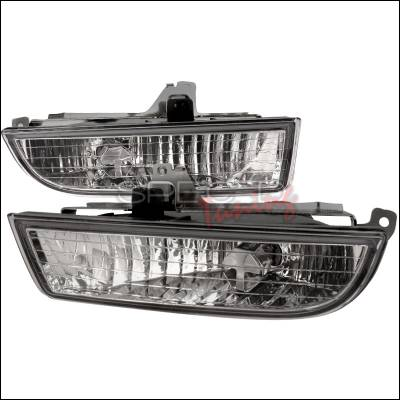 Headlights & Tail Lights - Fog Lights - Spec-D - Honda Prelude Spec-D OEM Fog Light - Clear - LF-PL97C-RS