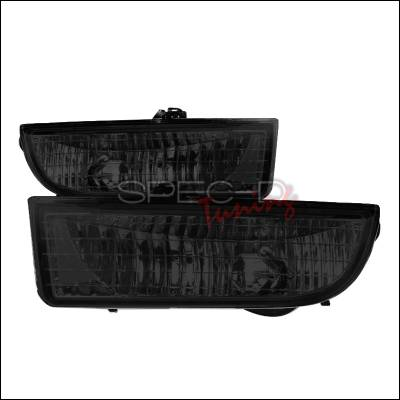 Headlights & Tail Lights - Fog Lights - Spec-D - Honda Prelude Spec-D OEM Fog Light - Smoke - LF-PL97G-RS
