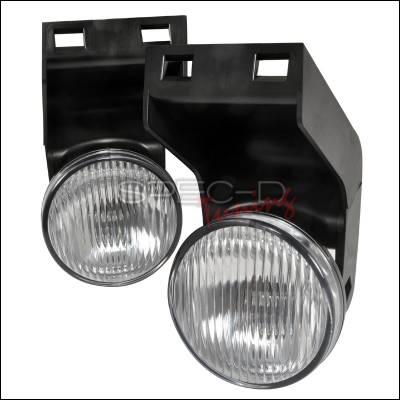 Headlights & Tail Lights - Fog Lights - Spec-D - Dodge Ram Spec-D OEM Style Fog Light - Clear - LF-RAM94COEM-APC
