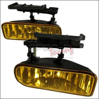 Headlights & Tail Lights - Fog Lights - Spec-D - Chevrolet Silverado Spec-D OEM Fog Light - Yellow - LF-SIV99AMOEM-WJ