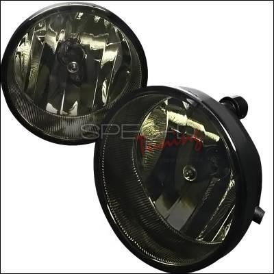 Headlights & Tail Lights - Fog Lights - Spec-D - Toyota Tacoma Spec-D OEM Fog Light - Smoke - LF-TAC06GOEM-HZ