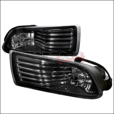 Headlights & Tail Lights - Fog Lights - Spec-D - Scion tC Spec-D OEM Fog Lights - Smoke - LF-TC05G-WJ