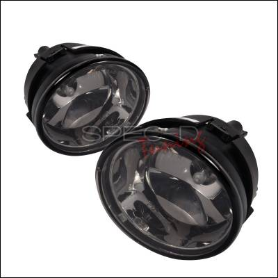 Headlights & Tail Lights - Fog Lights - Spec-D - Nissan Titan Spec-D OEM Style Fog Lights - Smoke - LF-TIT04GOEM-WJ